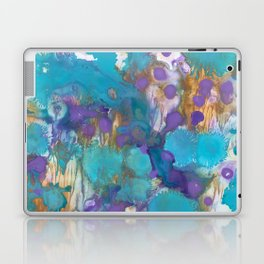 Blue Blossom Laptop & iPad Skin