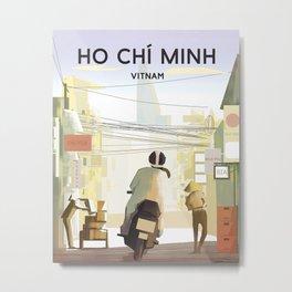 Vietnam Ho chi minh Metal Print