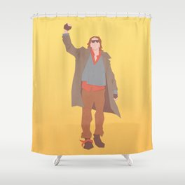 Sincerely Yours (The Breakfast Club) Shower Curtain
