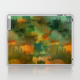 """""""Abstract forest in Autumn"""" Laptop & iPad Skin"""