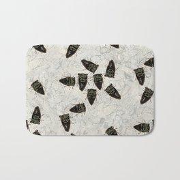 Cicada Pattern Bath Mat