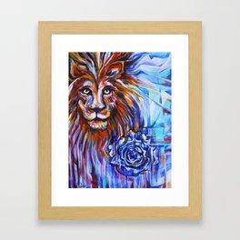 Lion Heart Framed Art Print