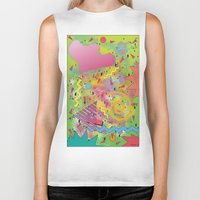 fresh prince Biker Tanks featuring Fresh Prince by TheArtGoon