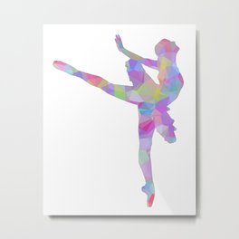 Ballerina Art 2 Metal Print