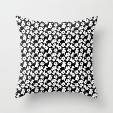 Mod Flower Throw Pillow