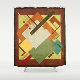 Geometric illustration 38 Shower Curtain