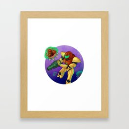 Metroid Framed Art Print