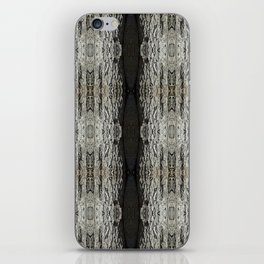 Oak Tree Bark Vertical Pattern by Debra Cortese Designs iPhone Skin