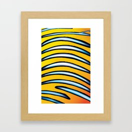 Under the Sea collection - Royal Angelfish Framed Art Print