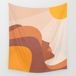 Girl Power - Glow Getter  Wall Tapestry
