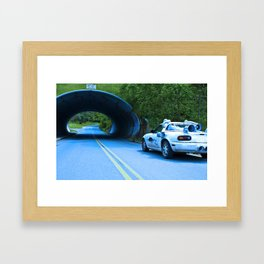 When this baby hits eighty-eight miles per hour... Framed Art Print
