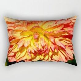 Radiant Orange Rectangular Pillow