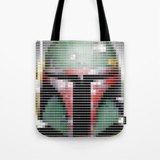 Boba Fett - StarWars - Pantone Swatch Art Tote Bag