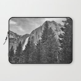 Yosemite Falls Before a Storm Laptop Sleeve