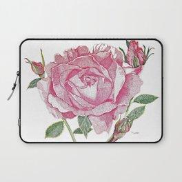 Queen Elizabeth Rose with Buds Laptop Sleeve