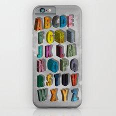 alphabet city Slim Case iPhone 6s
