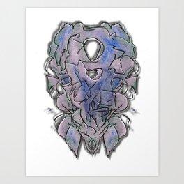 space purr Art Print