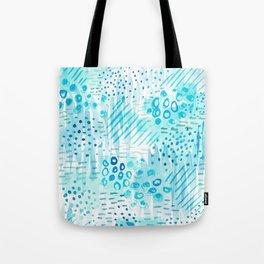 Aqua Daydreams Tote Bag