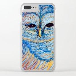 Magic Owl Clear iPhone Case