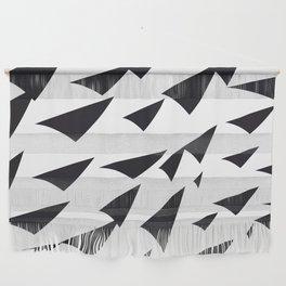 black soft arrows Wall Hanging