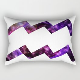 Galactic Aquarius Rectangular Pillow