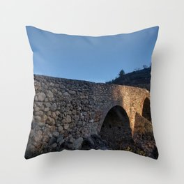 Puente Romano Throw Pillow