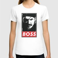 metal gear solid T-shirts featuring Big Boss - Metal Gear Solid by TxzDesign