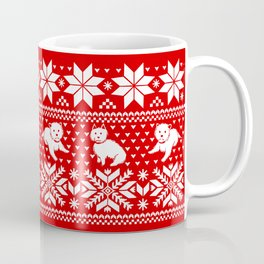 Fair Isle Westies Coffee Mug