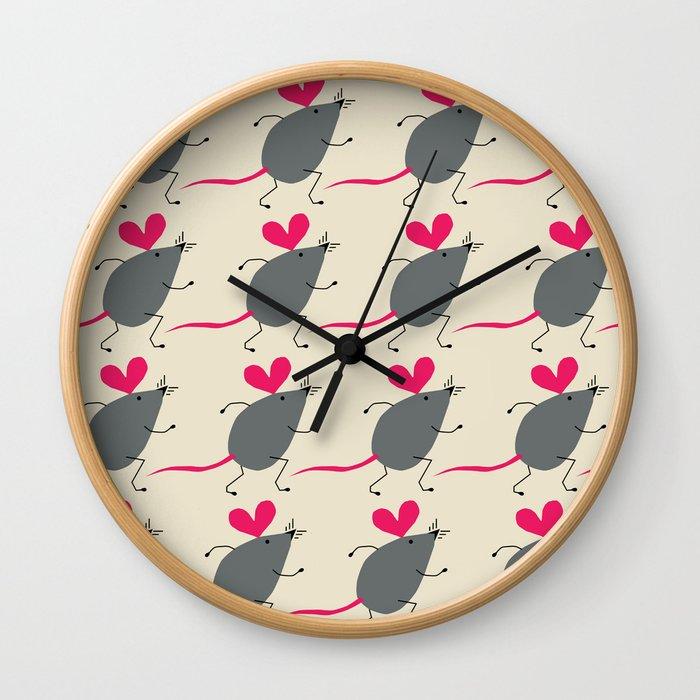 Love is life Wall Clock