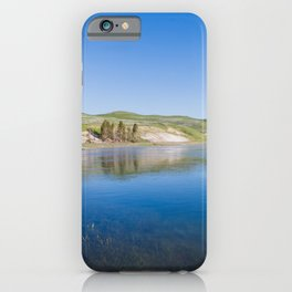Blue Sky Morning - Nature Photography iPhone Case
