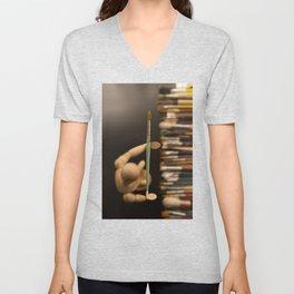 Love of art Unisex V-Neck