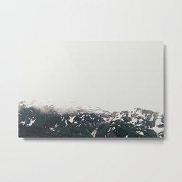Alaska Mt. Metal Print