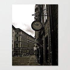 Old Fashion Time Canvas Print