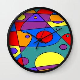 Abstract #71 Wall Clock