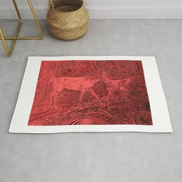 Abstract Sugar and Buford by Robert S. Lee Rug