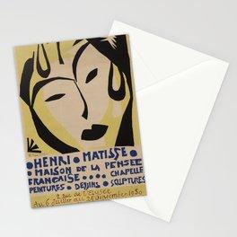 Maison de la Pensée Française by Henri Matisse Stationery Cards