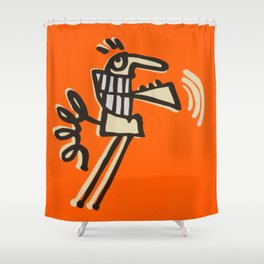 skip intro Shower Curtain