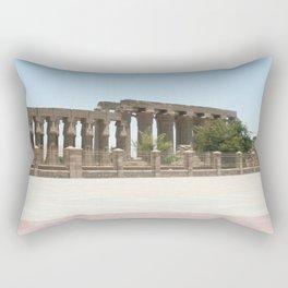 Temple of Luxor, no. 25 Rectangular Pillow