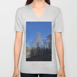 Entry in the forest Unisex V-Neck