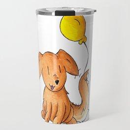 Balloon Doggy Travel Mug