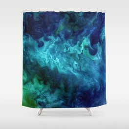 The Art of Nature - Churning in the Chukchi Sea Shower Curtain