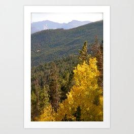 Here Comes Fall Art Print