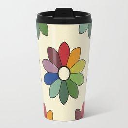 Flower pattern based on James Ward's Chromatic Circle Travel Mug