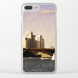 Charles River I Clear iPhone Case