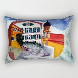 Gemeinde Castell Rectangular Pillow