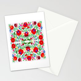 Hungarian Kalocsa 1 Stationery Cards
