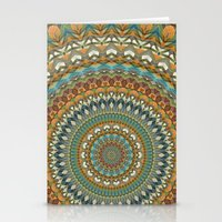 the 100 Stationery Cards featuring Mandala 100 by Patterns of Life