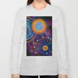 MOON AND PLANETS Long Sleeve T-shirt