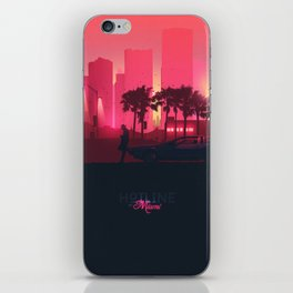 Hotline Miami iPhone Skin