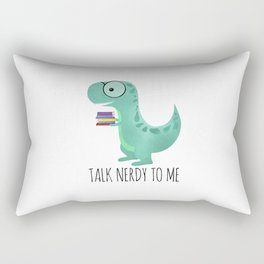 Talk Nerdy To Me Rectangular Pillow
